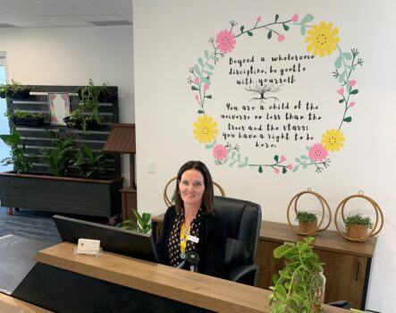 character care front desk